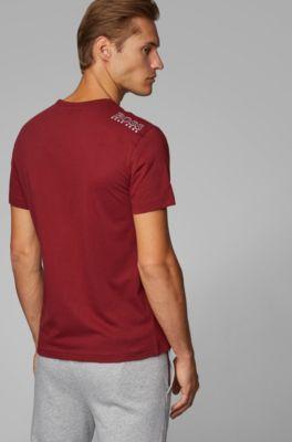 con en contraste Camiseta fit regular detalle sxtCBQhrd