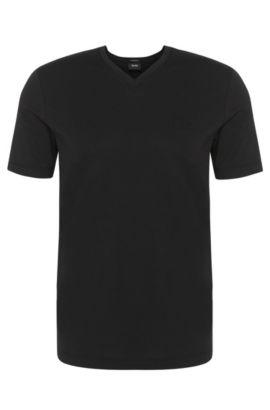 Regular-fit T-shirt van katoen in duopak: 'Brothers 01', Zwart