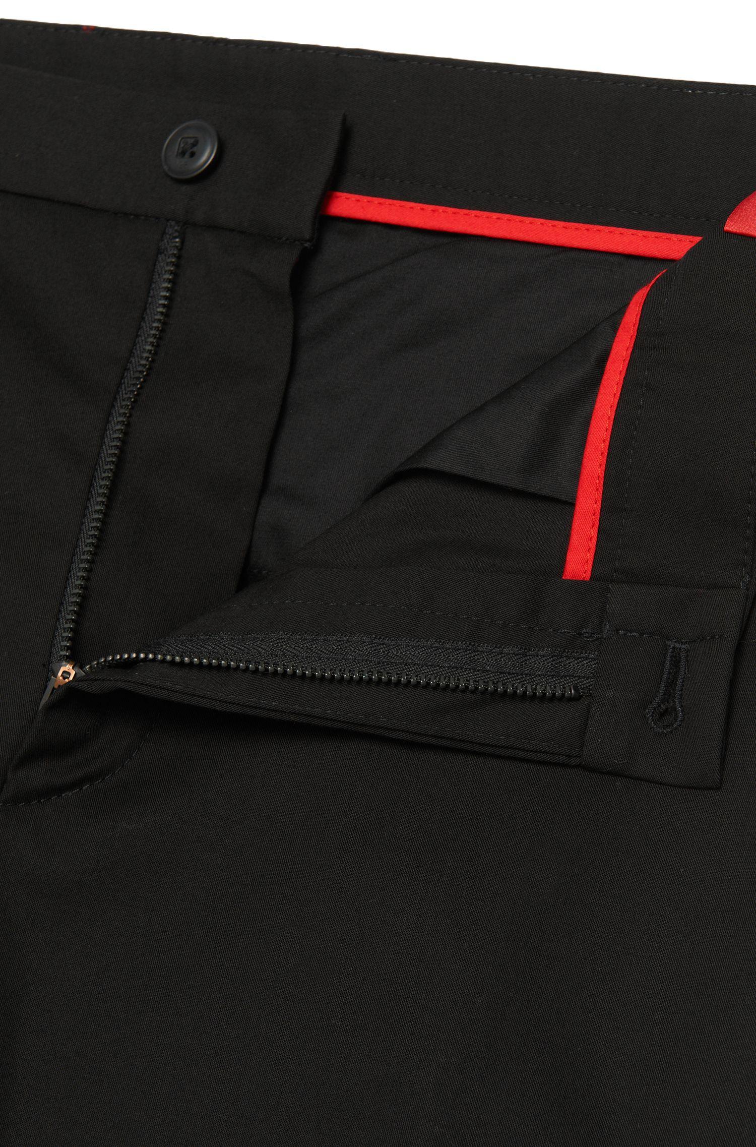 Chinos extra slim fit en algodón elástico: 'Heldor1'