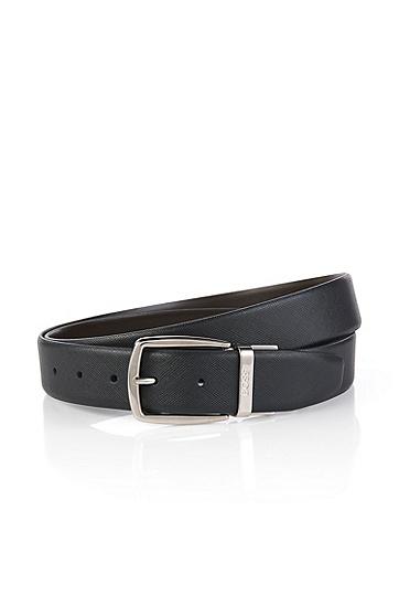 男士商务休闲腰带皮带,  002_黑色