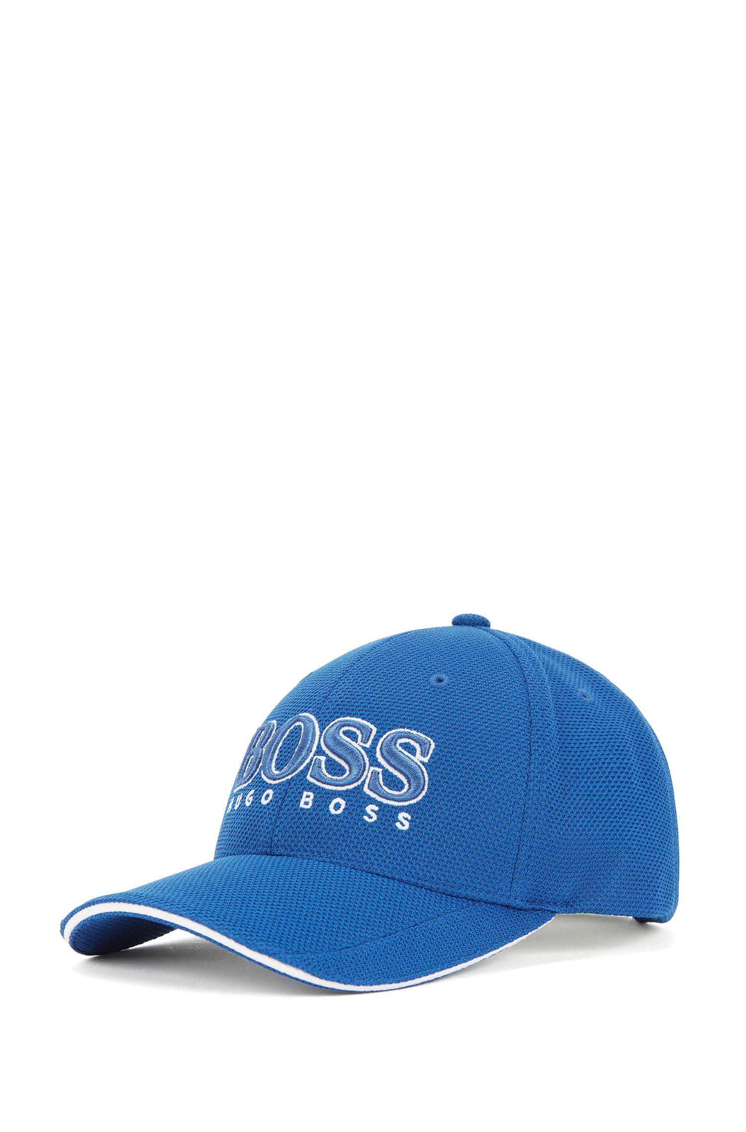 Cappellino da baseball in piqué tecnico