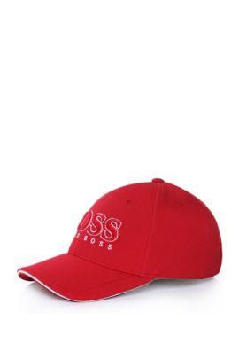 Baseball Cap aus Material-Mix, Rot