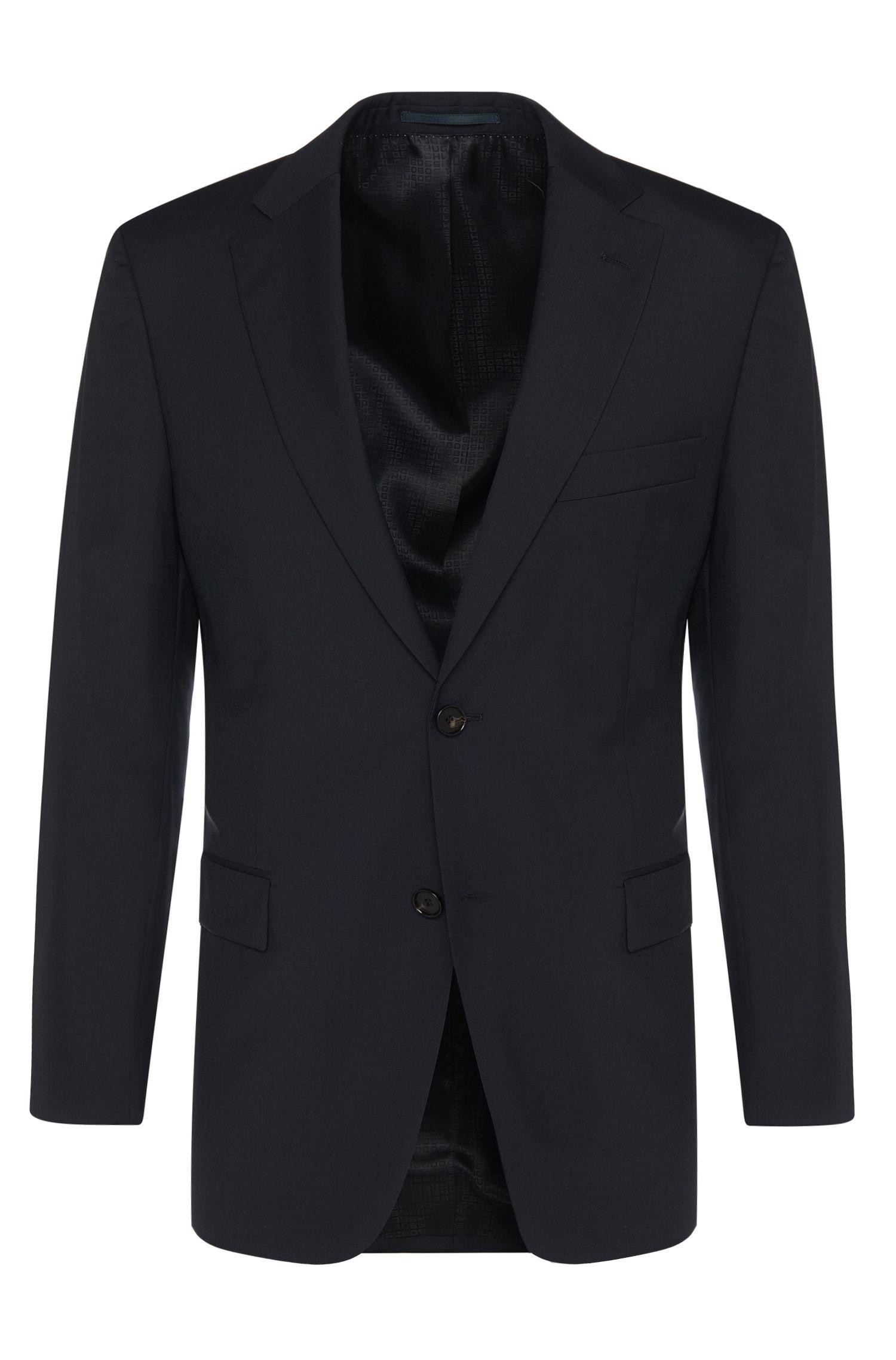 Giacca comfort fit in pura lana vergine: 'Pacini'
