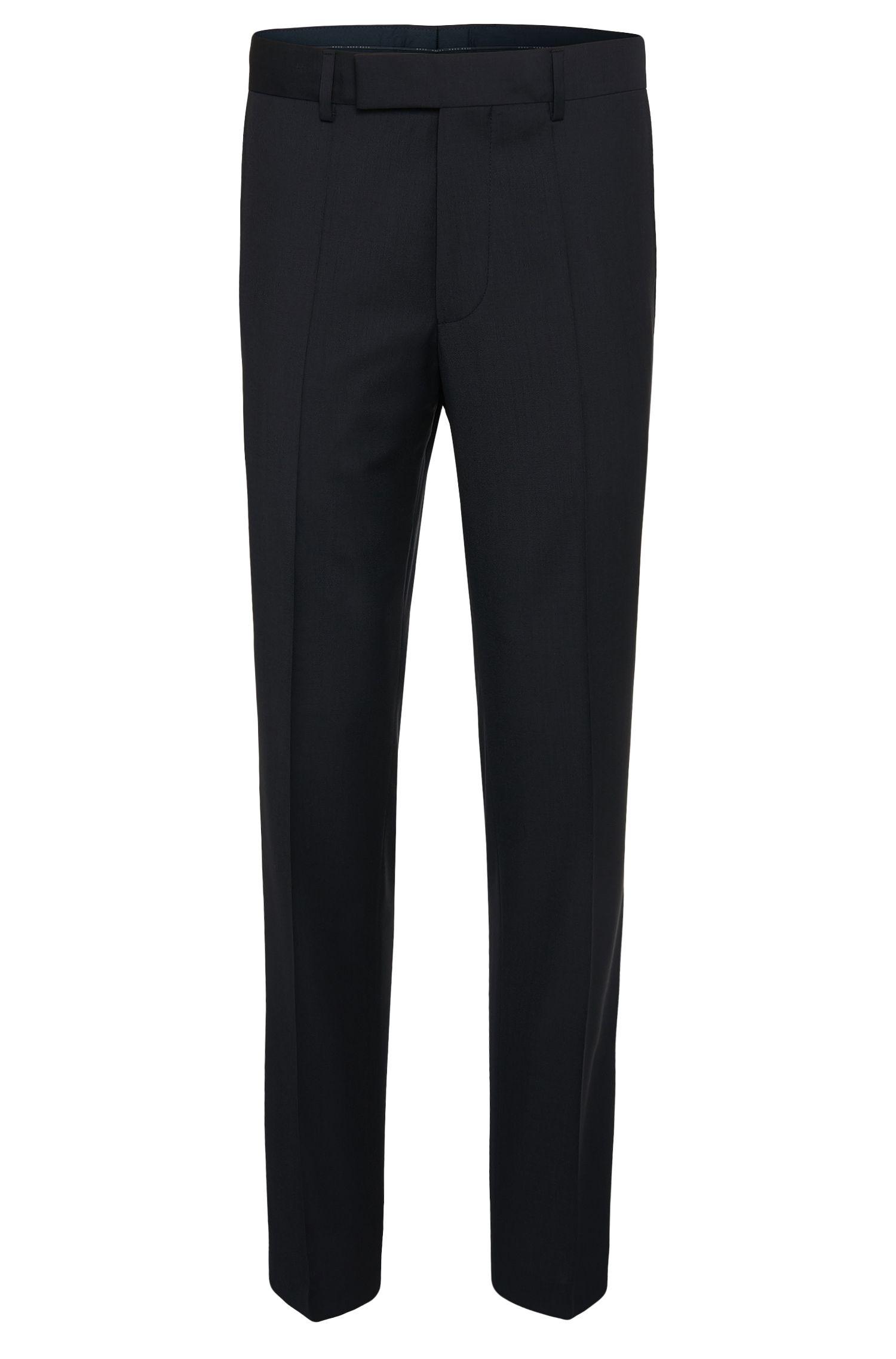 Comfort-fit broek van zuivere scheerwol: 'Movis'
