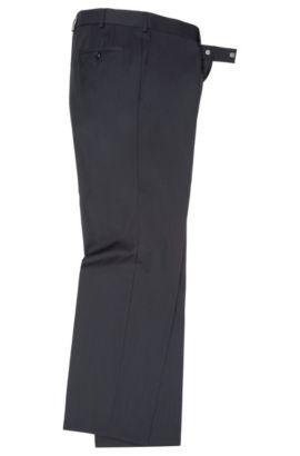 Pantalon business Comfort Fit grandes tailles: «Move», Bleu foncé
