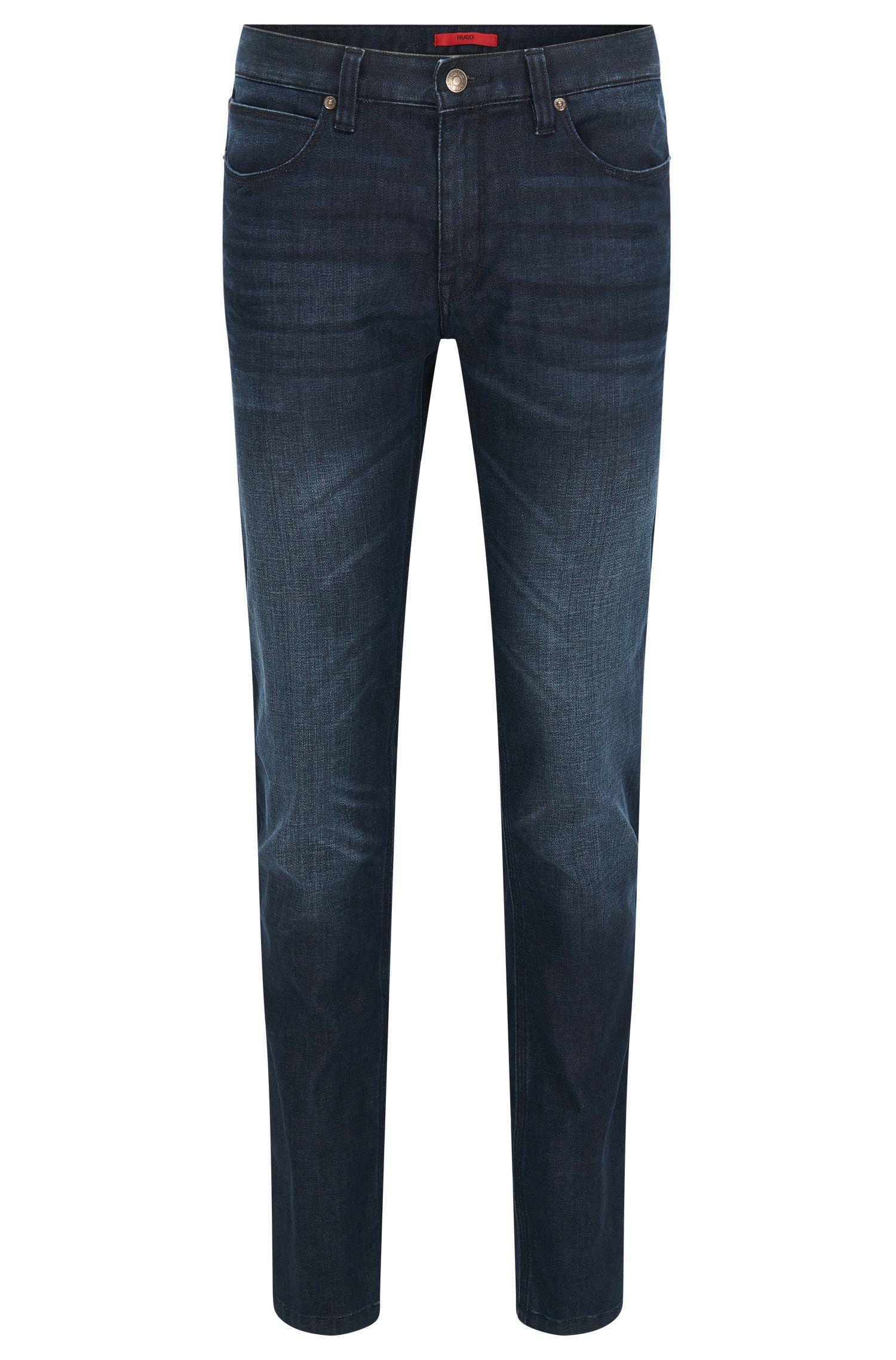 Jeans HUGO Homme Slim Fit en denim stretch StoneWash