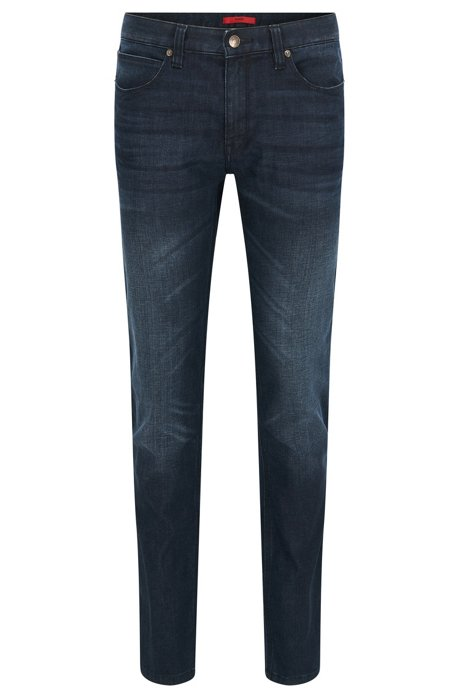 HUGO BOSS Jeans Homme Slim Fit en denim stretch Stone Wash 71hm9d