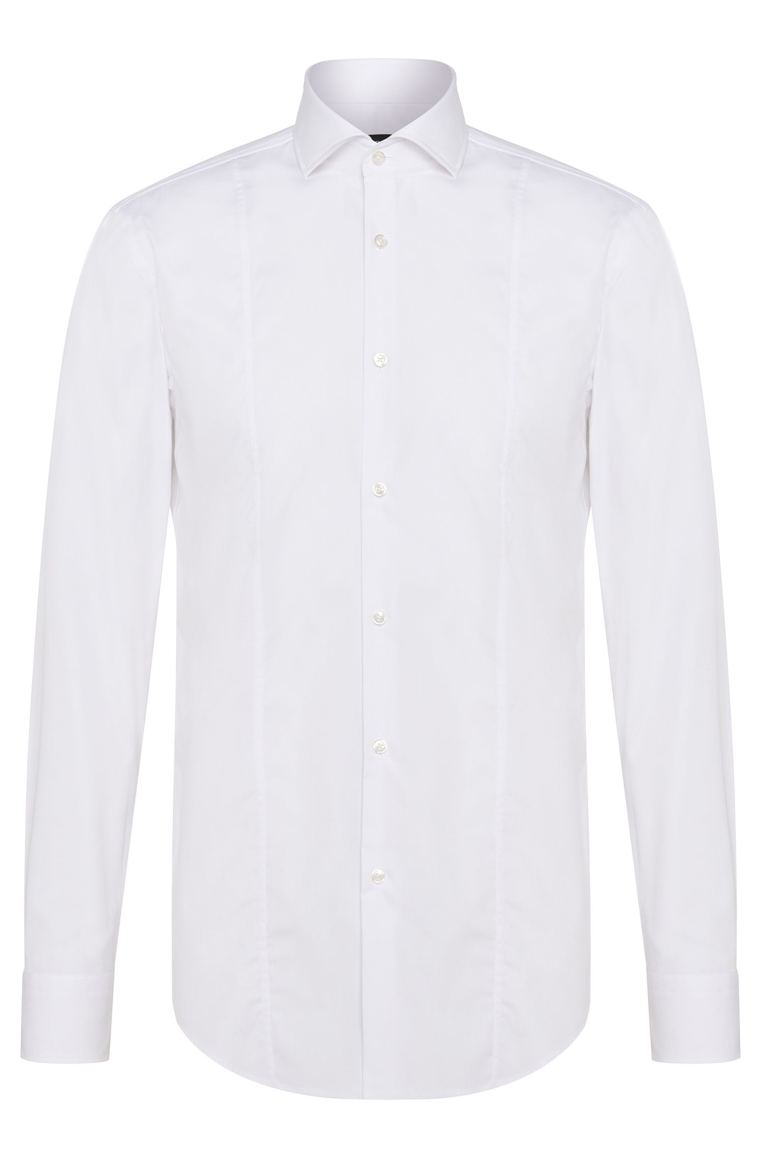 Camicia slim fit in puro cotone: 'Philip'