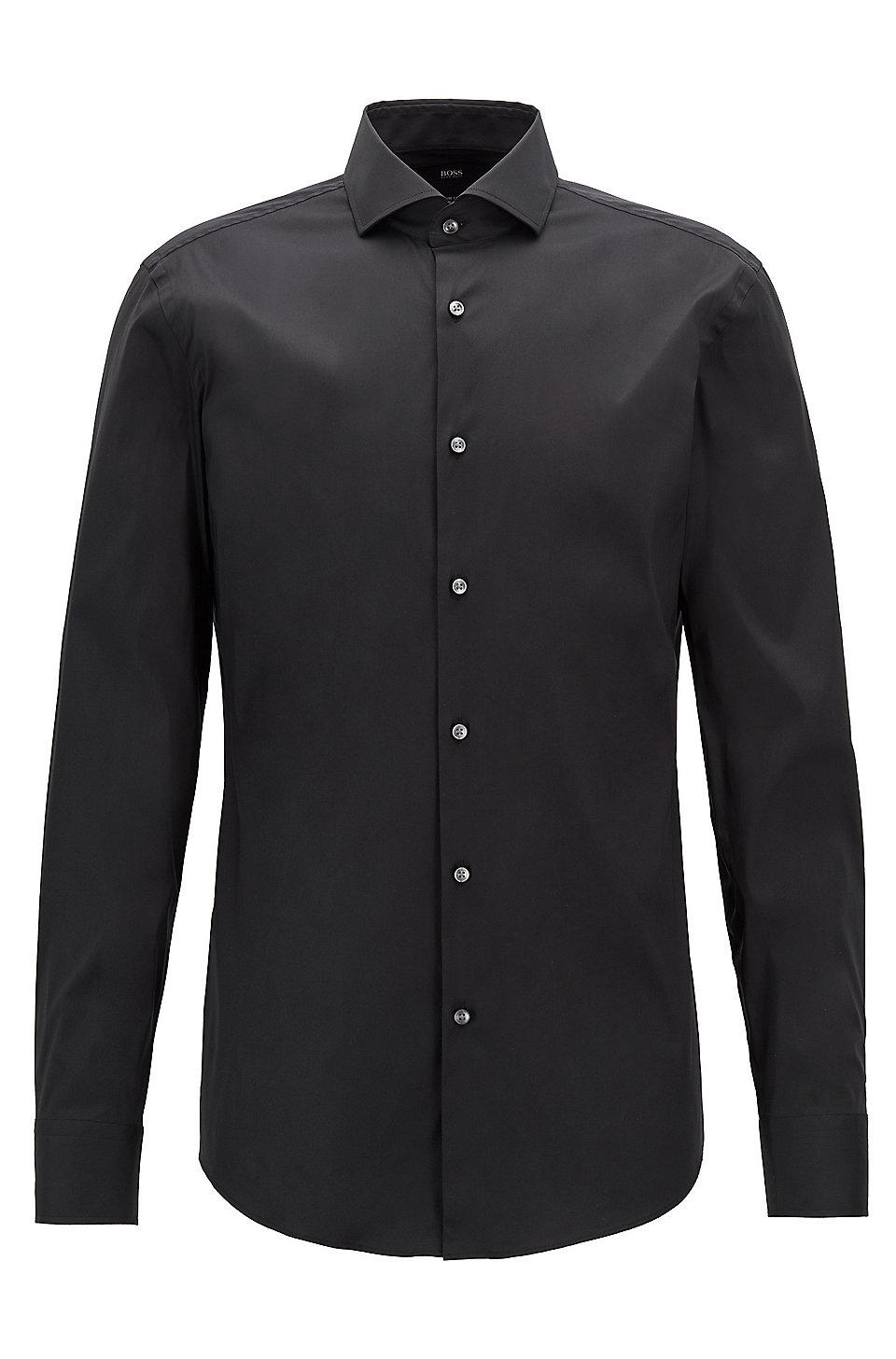 Hugo Boss Empson Extra Slim Fit Burgundy Shirt