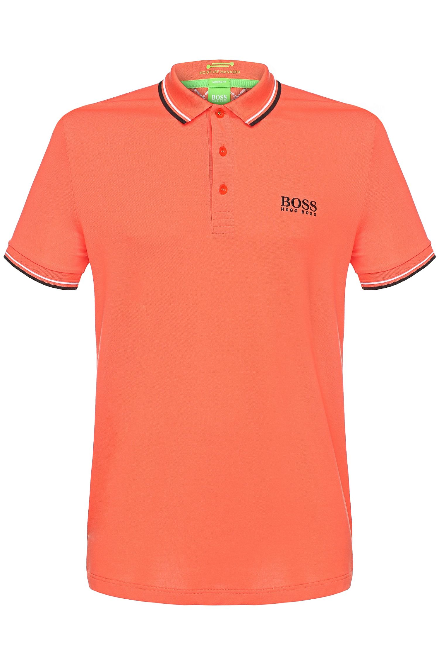 Polo da golf regular fit in piqué tinta unita: 'Paddy Pro'