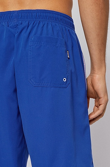 磨毛科技面料游泳短裤,  428_Medium Blue