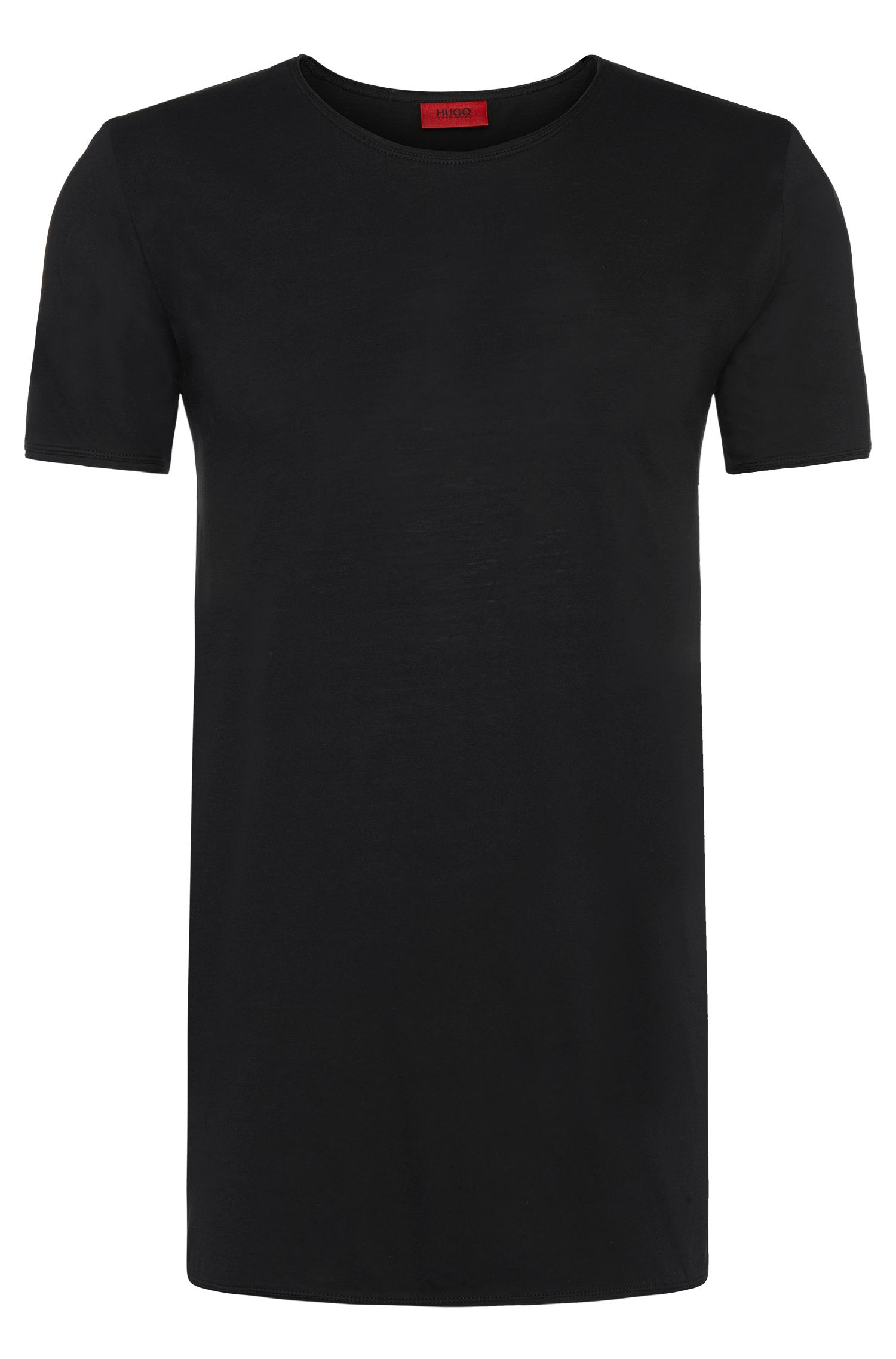 Relaxed-fit T-shirt van supimakatoen