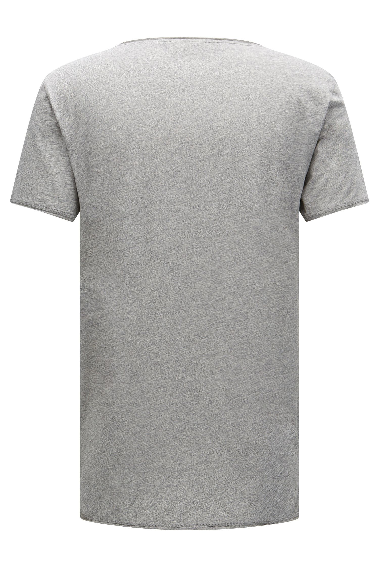 T-shirt relaxed fit in cotone Supima