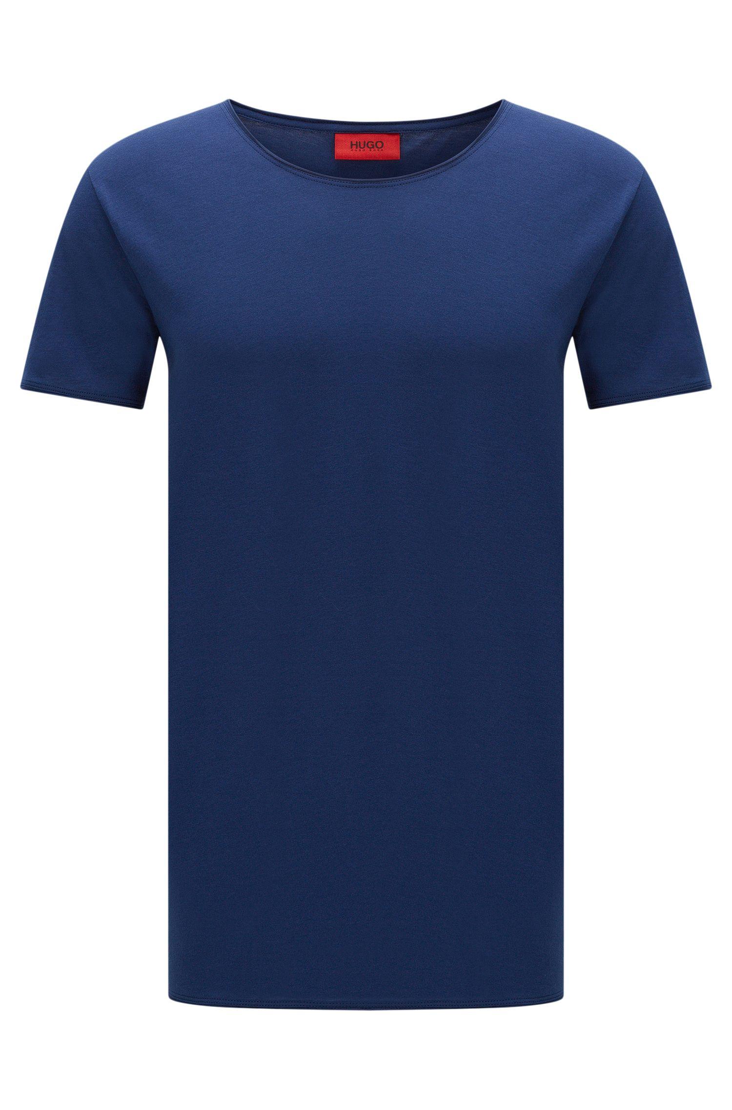 Camiseta relaxed fit en algodón supima