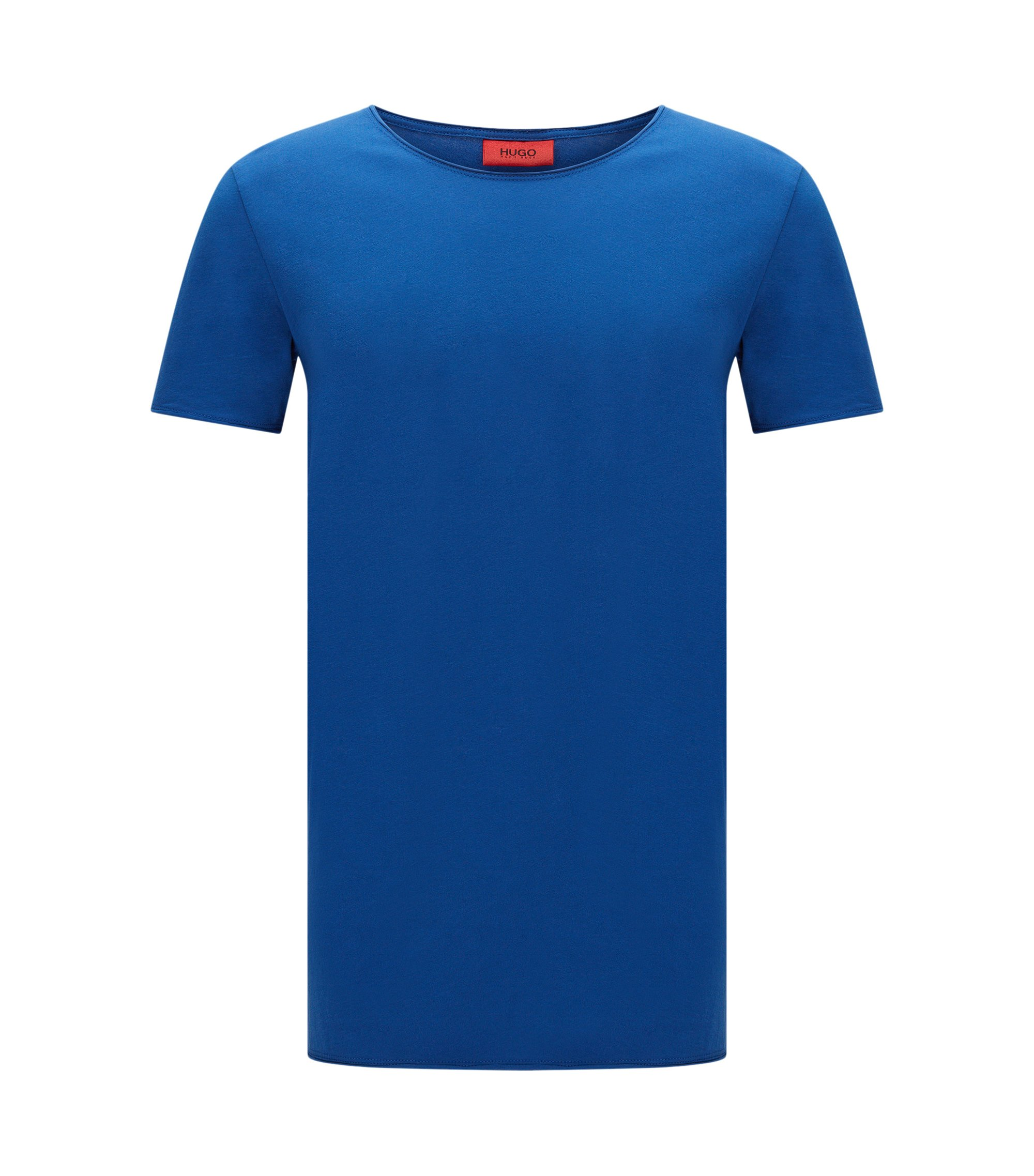T-shirt Relaxed Fit en coton Supima , Bleu