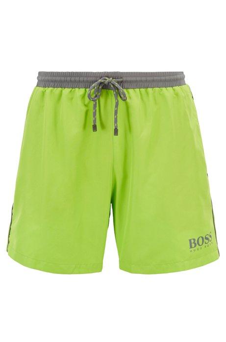 c35bae1aa8 Swim shorts in technical fabric, Green