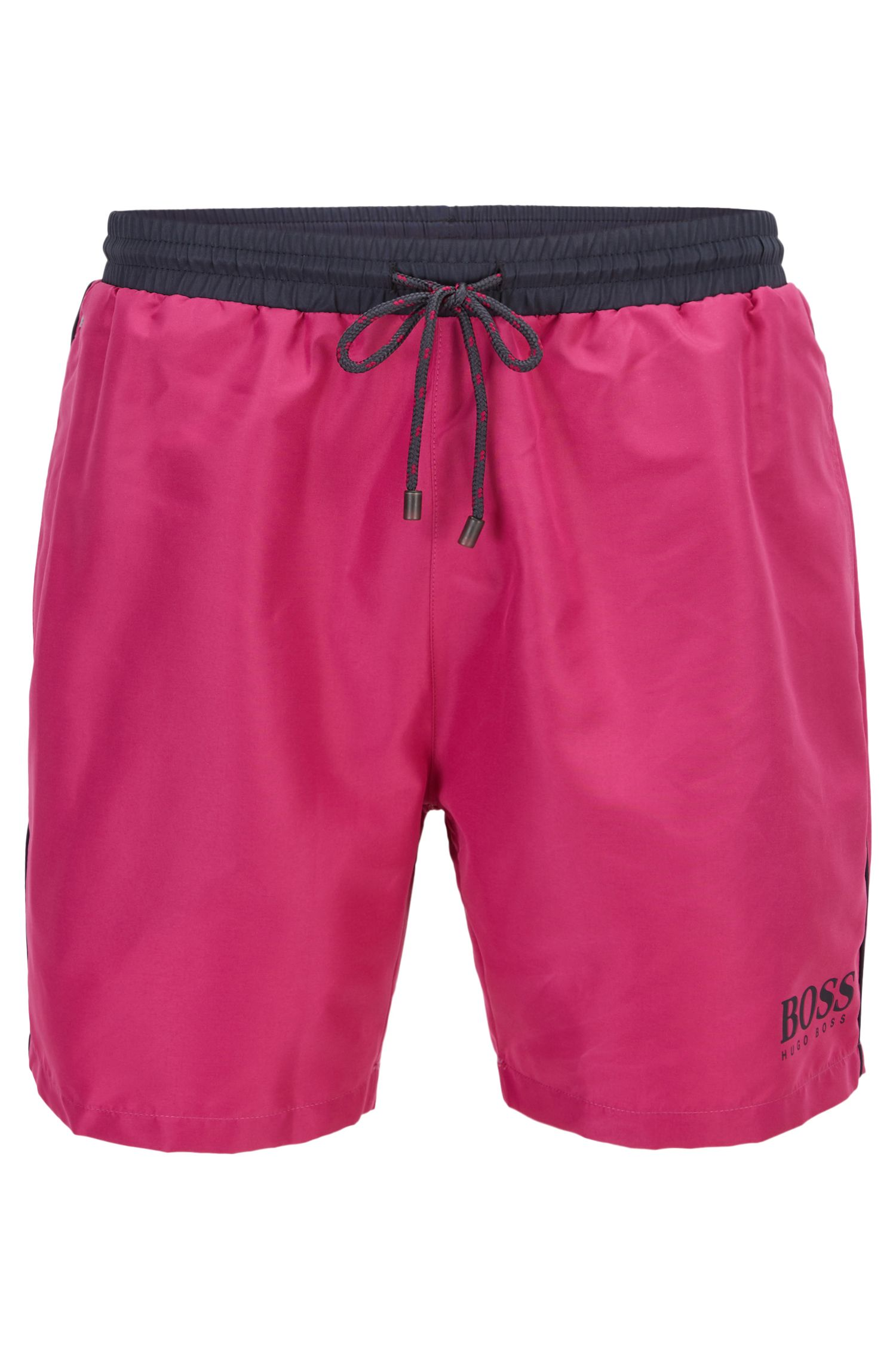 Swim shorts in technical fabric