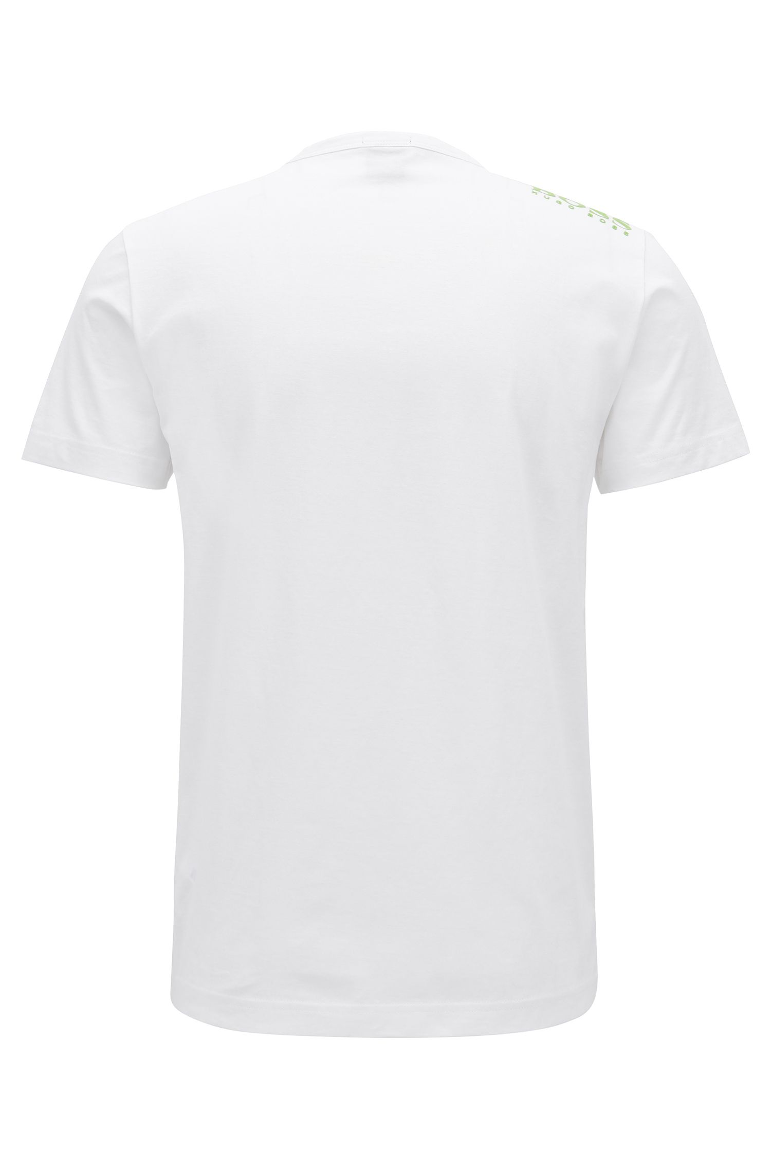 Regular-fit V-neck T-shirt in soft cotton
