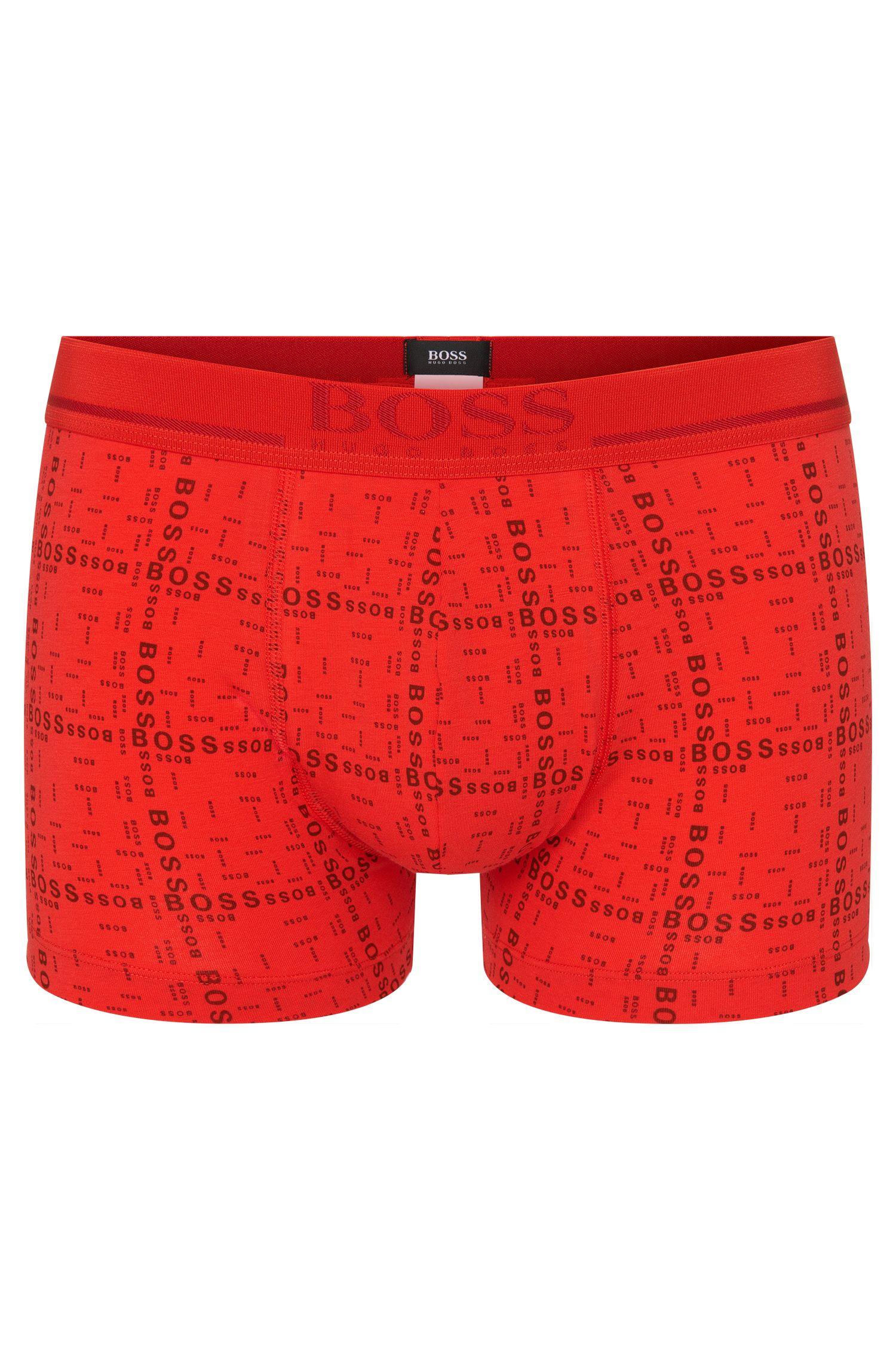 Boxer en coton mélangé: «Boxer 24 Print»