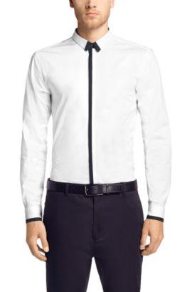 Slim-Fit Business-Hemd ´Edrion` mit Kentkragen, Weiß
