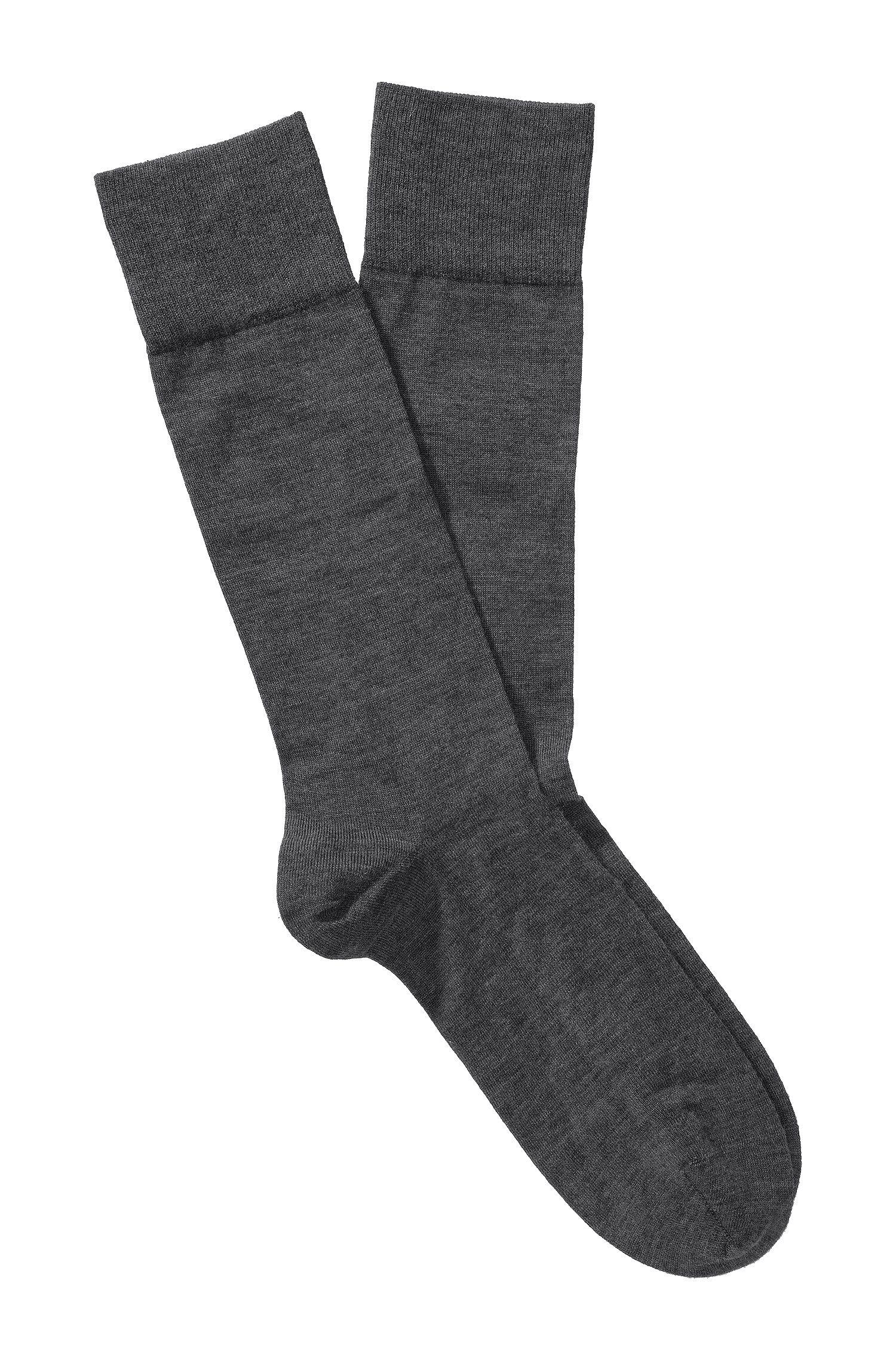 Socken ´TL Cashmere RS` aus Kaschmir-Mix, Anthrazit