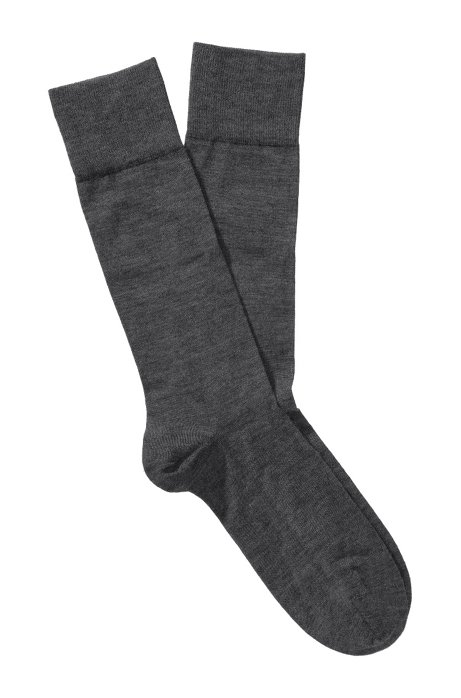 Socks 'TL Cashmere RS' in cashmere blend, Anthracite