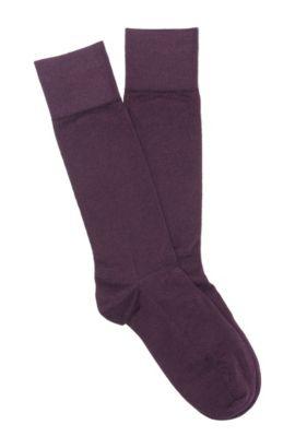 Socken ´TL Cashmere RS` aus Kaschmir-Mix, Dunkel Lila