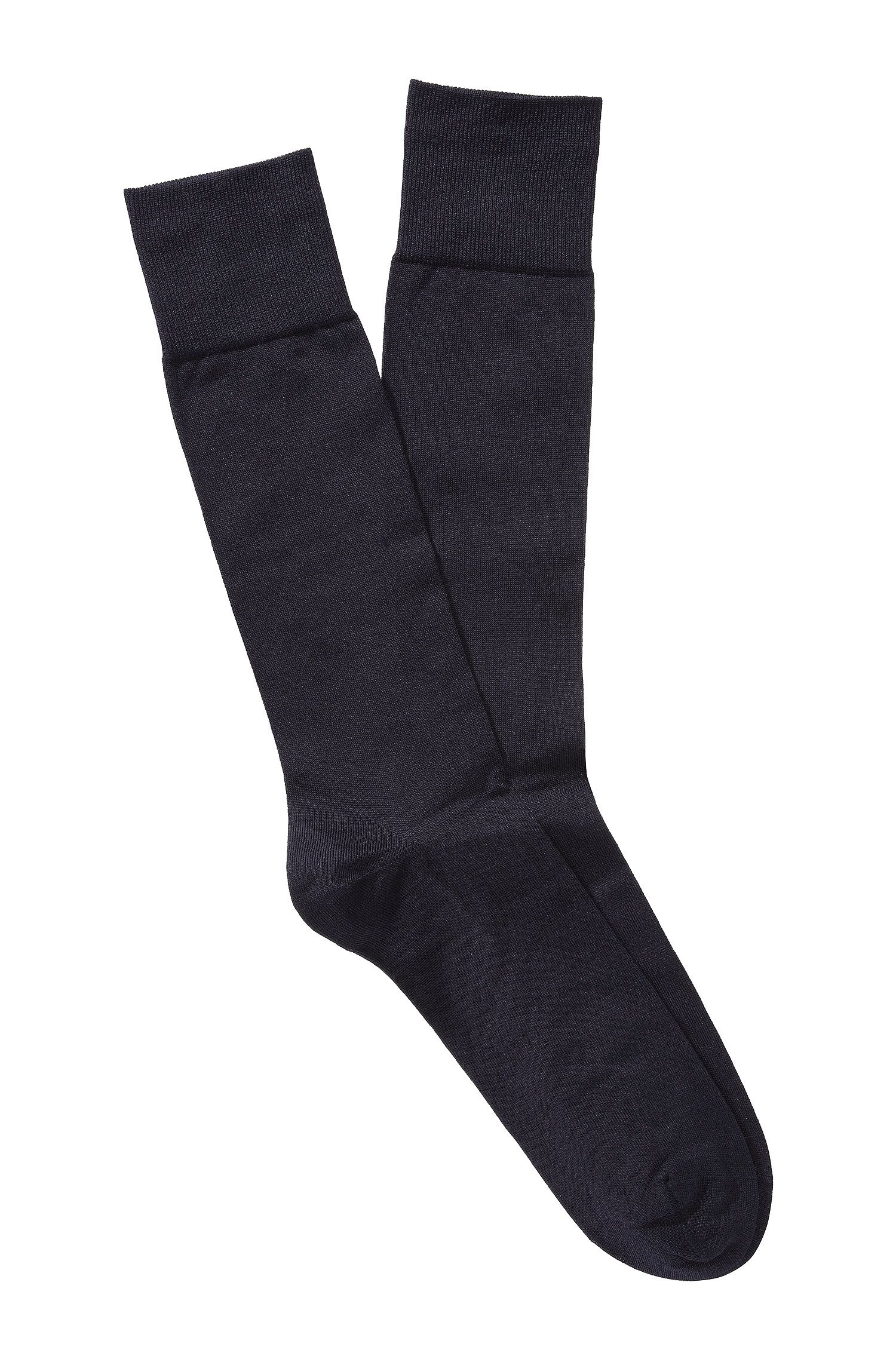 Socks 'TL Silk RS' in a silk blend