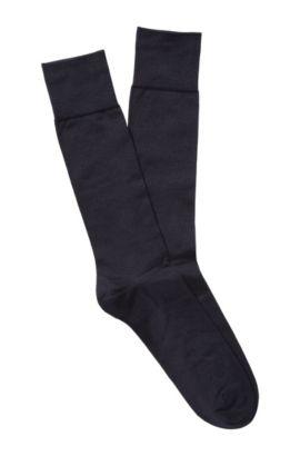 Socken ´TL Silk RS` aus Seidenkomposition, Dunkelblau