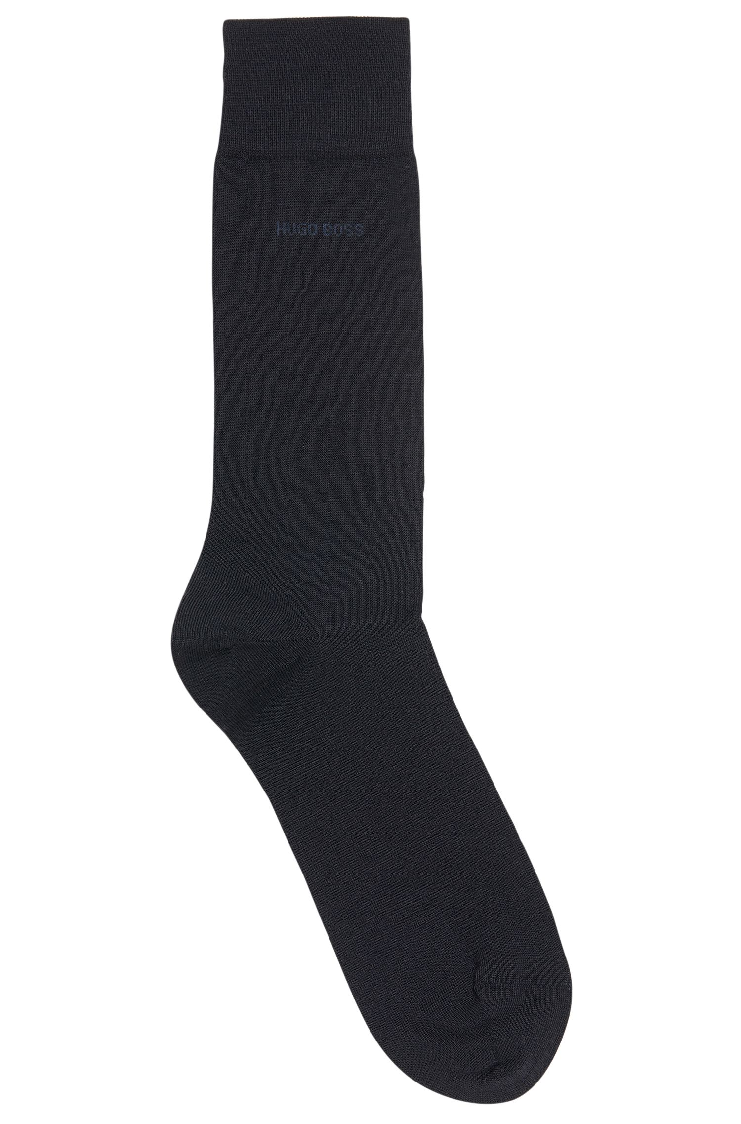 Merino wool and cotton blend socks