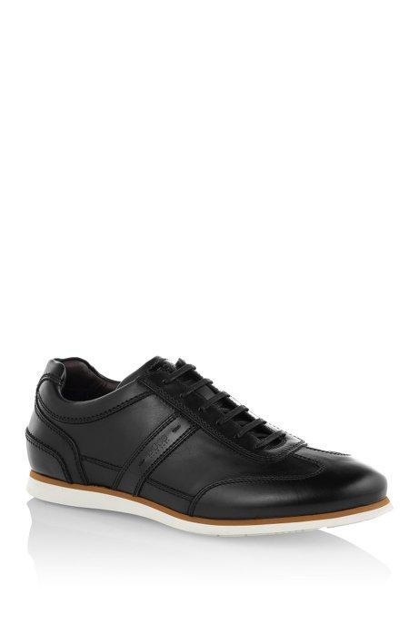 Sneakers 'T-Leisander' in leather, Black