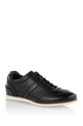Sneaker ´T-Leisander` aus Leder, Schwarz