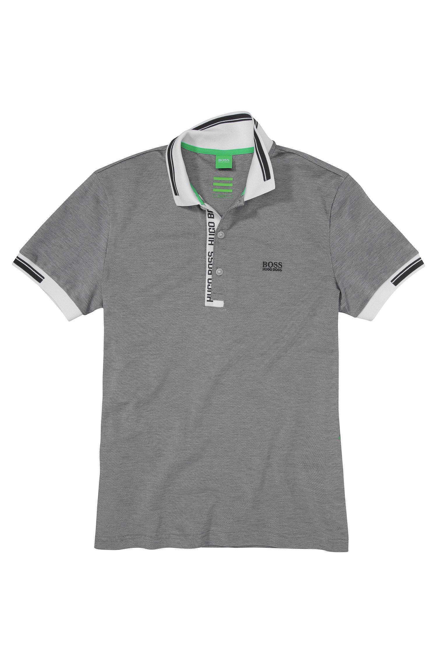 Slim-Fit Poloshirt aus Baumwollpiqué