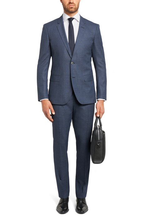 ac792374e BOSS - Plain regular-fit shirt in cotton: 'Gerald'