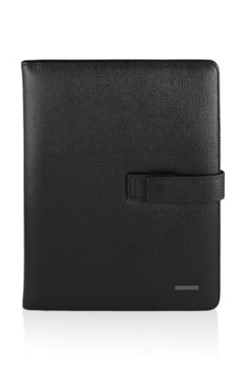 Leather organiser 'Talasso', Black