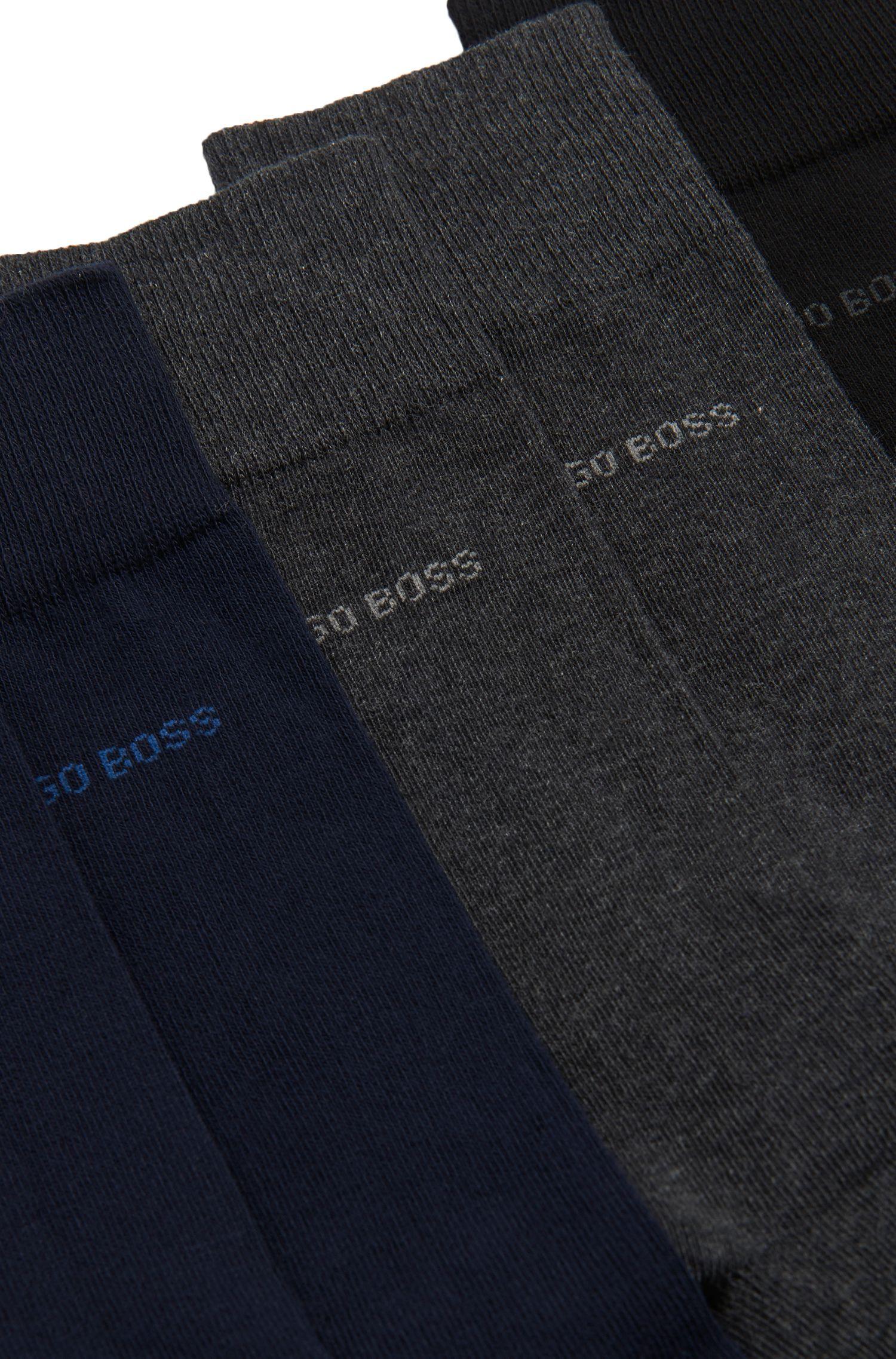 Three-pack of regular-length socks