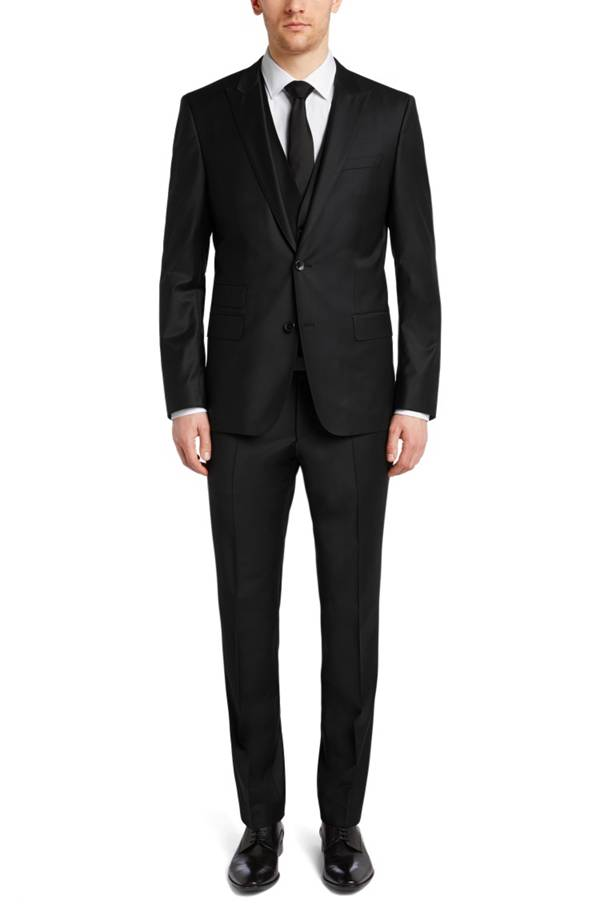 slim fit jacket in new wool blend 39 hold cyl 39. Black Bedroom Furniture Sets. Home Design Ideas