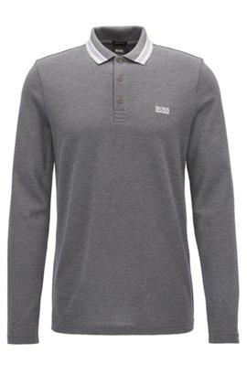 Regular-fit polo shirt in cotton piqué, ...