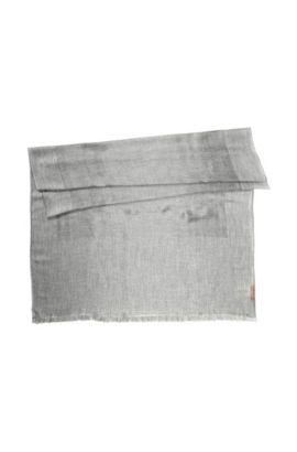 Schal ´Women-Z 466` aus Viskose-Mix, Grau