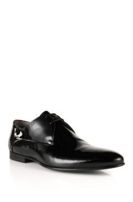 Schnürschuhe aus Leder: 'Everio', Schwarz