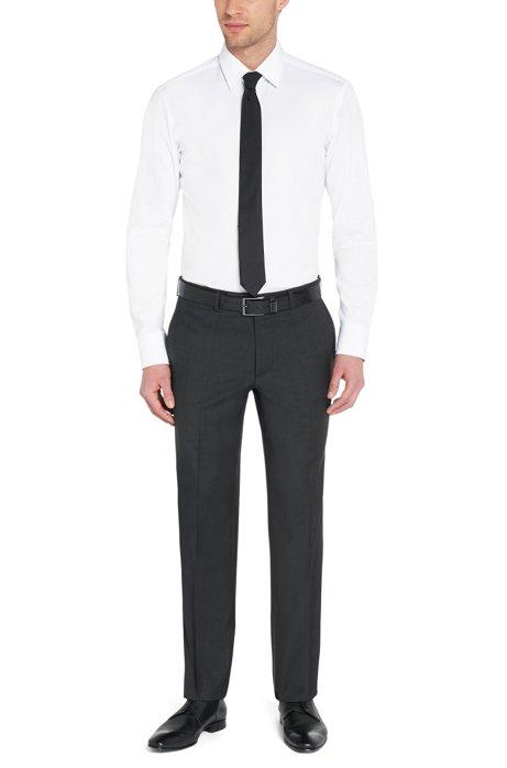 am besten geliebt neuer Stil klar in Sicht BOSS - Plain regular-fit shirt in cotton: 'Enzo'