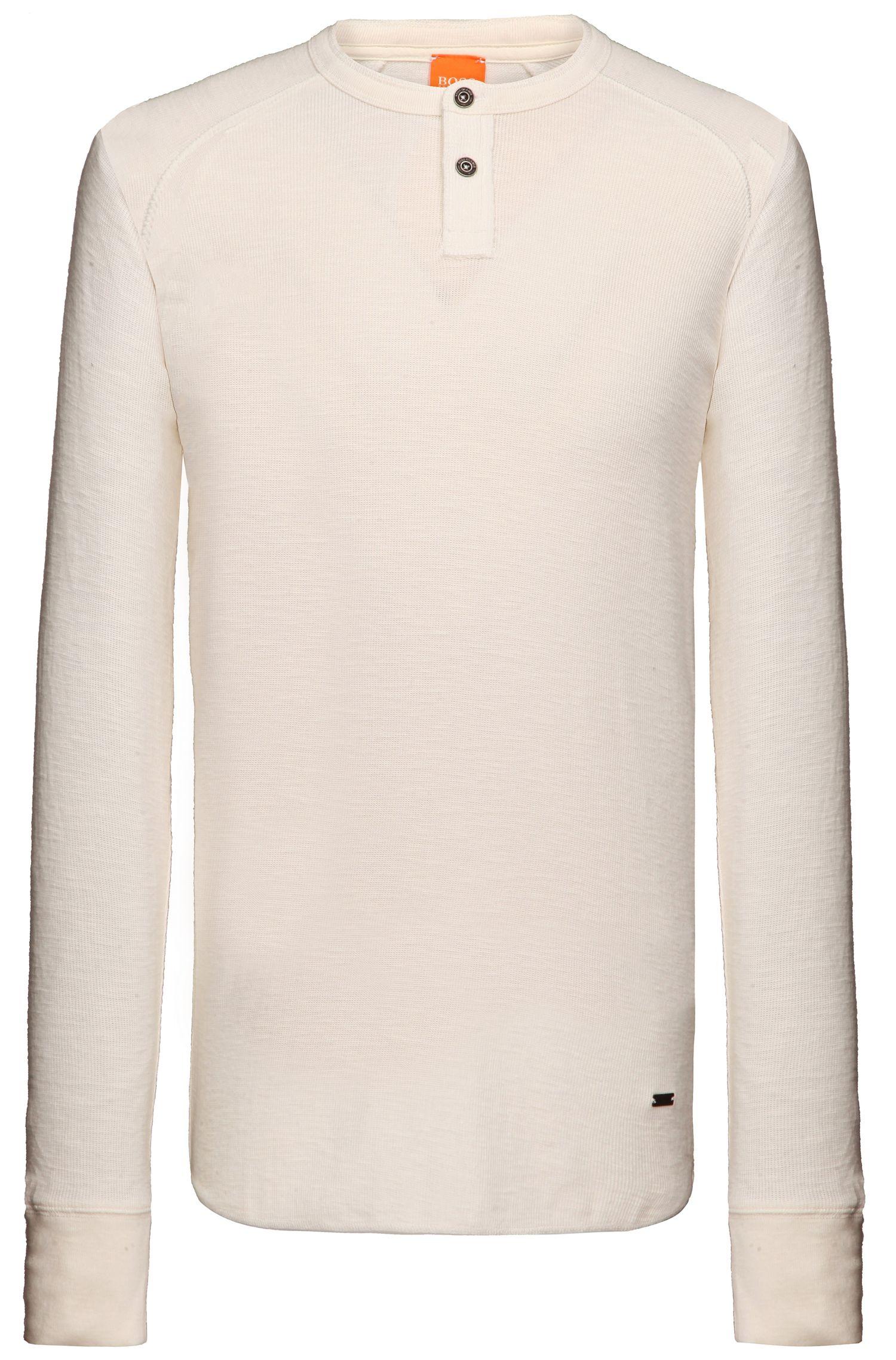 Shirt met lange mouwen 'Trucker 1' van katoen