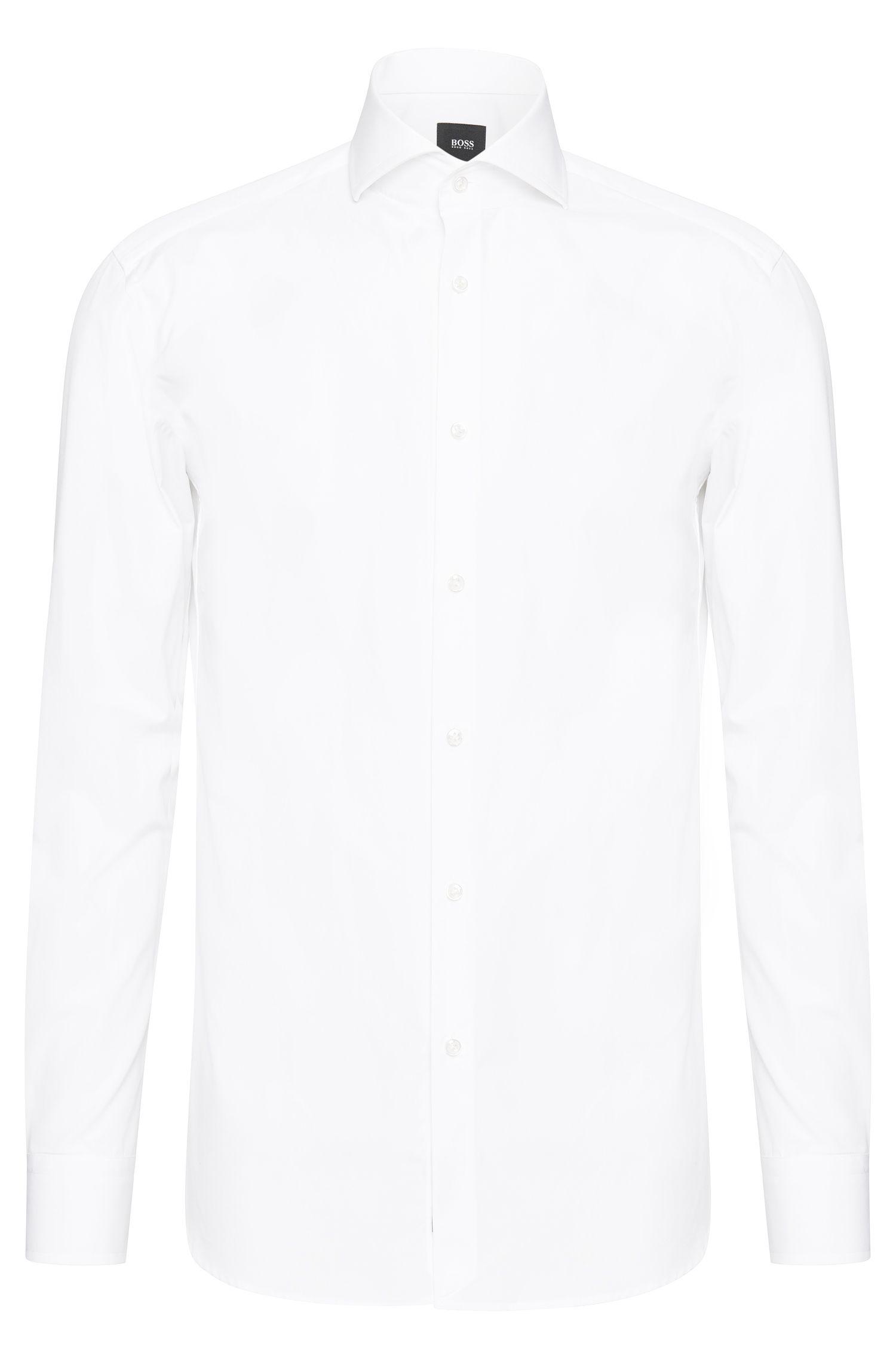 Slim-fit overhemd van katoen: 'T-Christo'