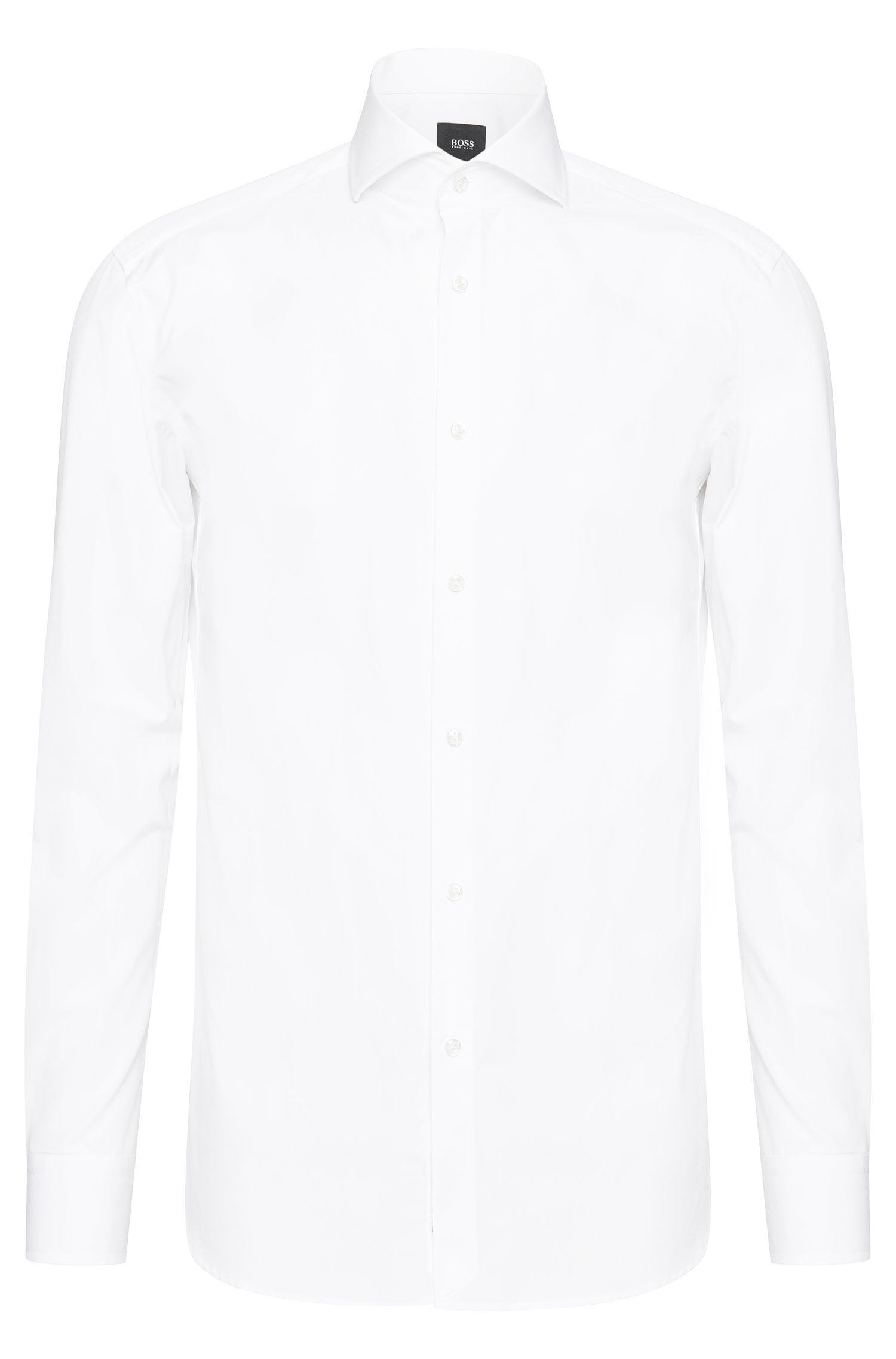 Slim-fit shirt in cotton: 'T-Christo'