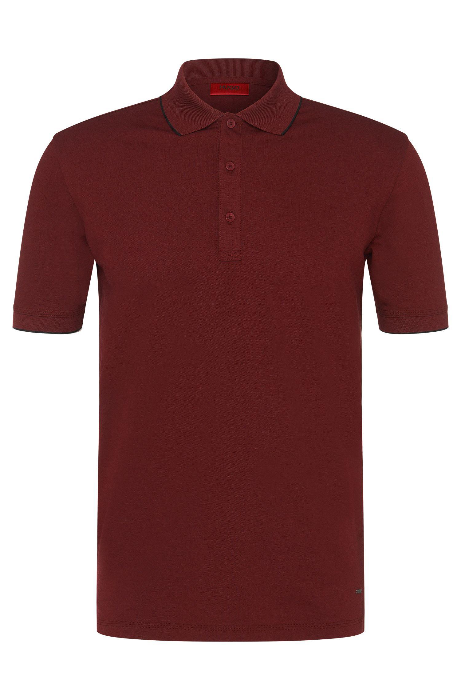 Regular-Fit Poloshirt aus Stretch-Baumwolle: 'Delorian'