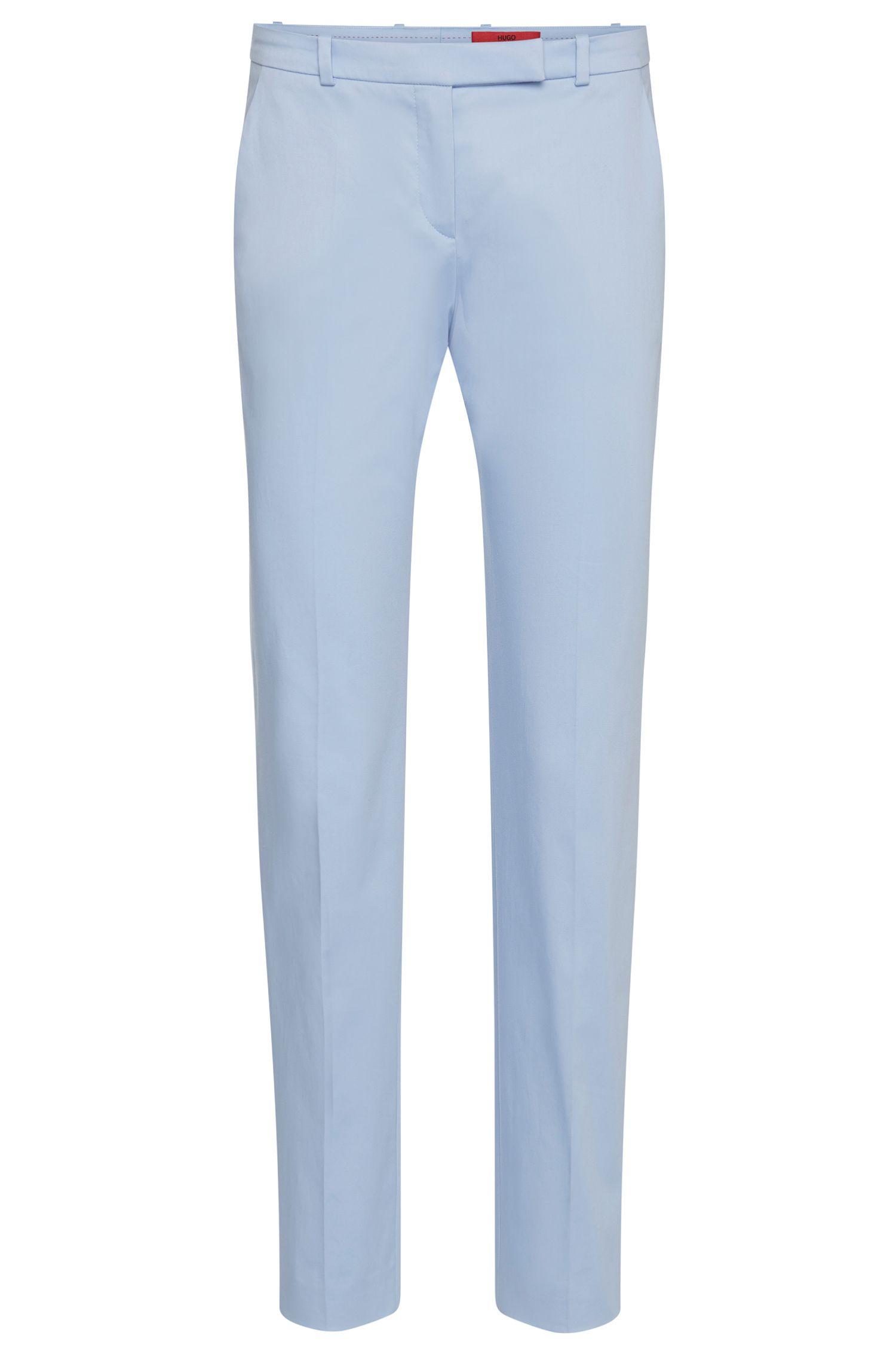 Pantaloni slim fit in cotone elasticizzato: 'Harile-3'