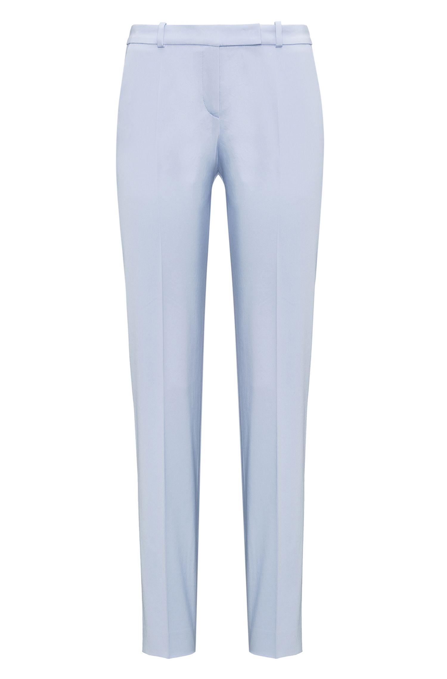 Regular-Fit Hose aus Stretch-Baumwolle