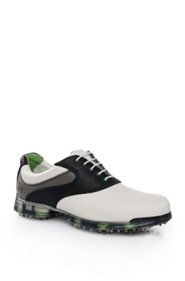 Sneaker in pelle di vitello: 'Golf Pro', Bianco