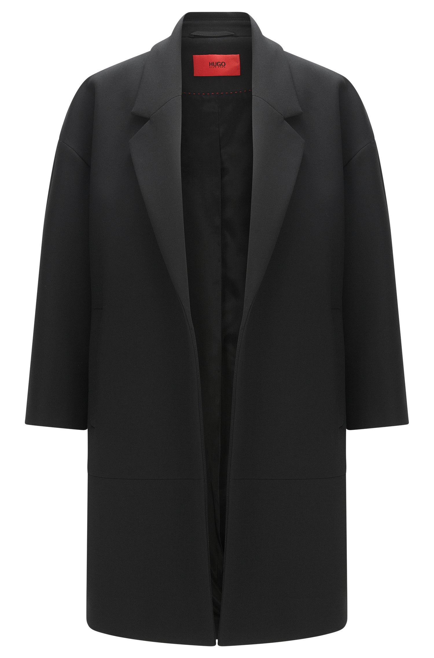 Oversize-Mantel mit offener Vorderseite: 'Melami'