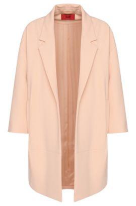 Cappotto 'Melami' in materiali misti, Rosa chiaro